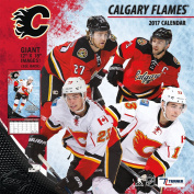 Turner Licencing Sport 2017 Calgary Flames Team Wall Calendar, 30cm x 30cm
