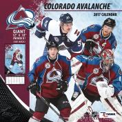 Turner Licencing Sport 2017 Colorado Avalanche Team Wall Calendar, 30cm x 30cm