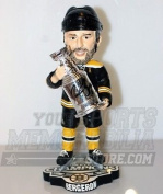 Patrice Bergeron Boston Bruins Signed Stanley Cup Champions Bobble Head