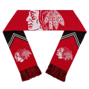 Chicago Blackhawks Scarf - Reversible Stripe - 2016