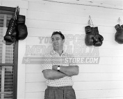 Rocky Marciano boxing gloves on wall 8x10 11x14 16x20 photo 695 - Size 8x10