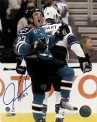 "Jeremy Roenick Autographed SJ Sharks ""Celly"" 8x10 Photograph"