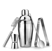 Cocktail Shaker 5PCS/Set , Stainless Steel Bartender Tool Mixer - 750ml By XXYsm