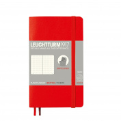 Leuchtturm1917 Softcover Pocket Dotted Notebook Red