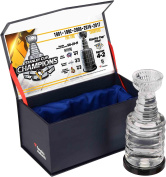 Pittsburgh Penguins 2017 Stanley Cup Champions Crystal Stanley Cup Trophy - Filled With Ice From the 2017 Stanley Cup Final - Fanatics Authentic Certified