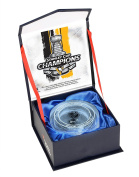 Pittsburgh Penguins 2017 Stanley Cup Champions Crystal Puck - Filled With Ice From the 2017 Stanley Cup Final - Fanatics Authentic Certified
