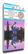 NHL Chicago Blackhawks 1991 All-Star Game Mega Ticket - MVP Damphousse