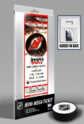 Martin Brodeur New Jersey Devils - Record Breaker 552 Wins - Mini-Mega Ticket