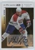 Michael Ryder (Hockey Card) 2003-10cm the Game-Used Signature Series - Signatures - Gold #A-MRY