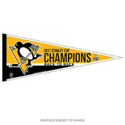 Penguins 2017 Stanley Cup Champs Pennant and Banner