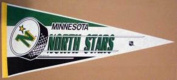NHL MINNESOTA NORTH STARS CLASSIC HOCKEY PUCK GRAPHIC AUTHENTIC PENNANT