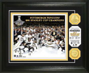 NHL Pittsburgh Penguins 2016 Stanley Cup Champions Bronze Coin Photo Mint