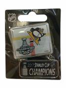 Pittsburgh Penguins 2017 Stanley Cup Champions Aminco Dangler Metal Lapel Pin
