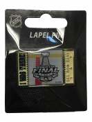 """Pittsburgh Penguins 2017 Stanley Cup Final Aminco """"I Was There!"""" Metal Lapel Pin"""