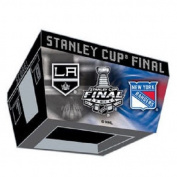 2014 NHL Stanley Cup Finals Kings/Rangers MSG Deuling Score Box Jumbotron Pin
