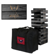 Washington Capitals Onyx Stained Giant Wooden Tumble Tower Game