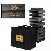 Nashville Predators Onyx Stained Giant Wooden Tumble Tower Game