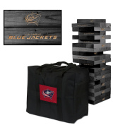 Columbus Blue Jackets Onyx Stained Giant Wooden Tumble Tower Game
