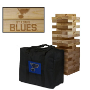 St. Louis Blues Wooden Tumble Tower Game