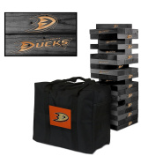 Anaheim Ducks Onyx Stained Giant Wooden Tumble Tower Game