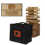 Philadelphia Flyers Wooden Tumble Tower Game