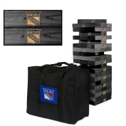 New York Rangers Onyx Stained Giant Wooden Tumble Tower Game