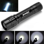 Powerful 3000 Lumens 3 Modes LED 18650 Flashlight Torch Lamp Zoomable Adjustable by SMYTSHOP