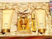 Tiamo By Parfum Blaze for Women 4pcs Gift Set 100ml Eau De Parfum 150ml Body Lotion+150ml Shower Gel + 0.80z Eau De Parfum by Parfum Blaze