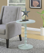 Convenience Concepts 131355SF Palm Beach Accent End Table, Sea Foam