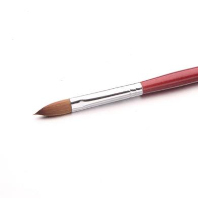 Ecosin Nail Brush Professional Nail Art Drawing Painting Pen Brush Detailer Liner Brush 1Pcs (Red)