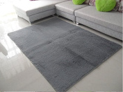 Norson Home Textiles, Ultra Soft 3 Cm Thick Indoor Morden Area Rugs Pads, New Arrival Fashion Colour [Bedroom] [Livingroom] [Sitting-room] [Rugs] [Blanket] [Footcloth] for Home Decorate. (Grey, 55.1* 78.7 inches