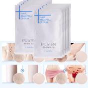 Livoty 10PC Hair Removal Cream for Boby Leg Pubic Hair Armpit Depilatory Paste