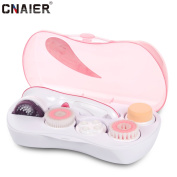 CNAIER 5 in 1 Facial Cleansing Spin Brush Set Deeply Cleans for Removing Blackhead, Exfoliating and Massaging