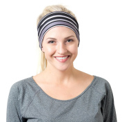 Yoga Headbands for Women - Wide Non Slip Design for Running Workout and Fitness by RiptGear