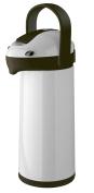 Helios Airpot Plastic Vacuum Jug, Grey/Black, 1.9 Litre