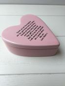 Shabby Personalised Chic Ceramic Heart Special Best Friend. Gift Trinket Jewellery Box. Birthday Present
