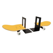 Transitional Skate Teen Room Idea for Boys and Girls Skaters - Skateboard Bookend yellow