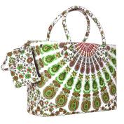 Green Coloured Designer Beach Perfect Beach Bag