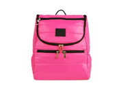 Moms Carry Premium Nappy Bag Backpack . and Confortable Design Travel Bag for Women & Men, Pink