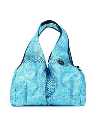Ponopino Premium Caron Nappy Bag Shoulder Bag . and Confortable Design Travel Bag for Women & Men, Sky Blue