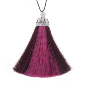 Rayon Tassel with Cap silk tassel Multi colour theme tassels for Earrings necklace Keychain,Sold 2pcs/lot,10190852