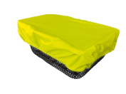 NICE 'N' DRY Cover for front and rear Bike Basket - neon yellow
