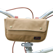 Tourbon Wasterproof Canvas Bike Panniers Bicycle Pouch Handlebar Bag