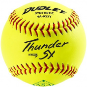 Dudley 28cm Thunder Hycon SY ASA Synthetic Slowpitch Softball