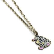 Enamelled Niffler Charm Necklace