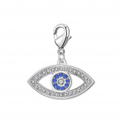 Evil Eye Charm in Gift Pouch