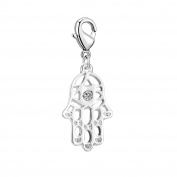 Hamsa Charm in Gift Pouch