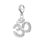 Om Charm in Gift Pouch