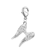 Angel Wings Charm in Gift Pouch