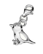 Genuine Silver 925 Sparrow clip on charm ideal for european bracelet or necklace C6C
